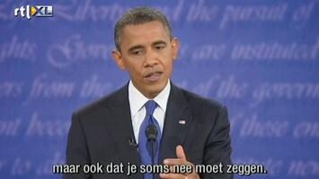 Editie NL Hoogtepunten debat Romney-Obama