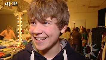 RTL Boulevard The Voice Kid Dave in roze topje naar finale