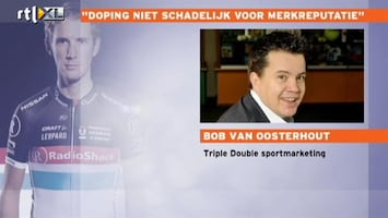 RTL Nieuws 'Dopingschandaal hoeft niet slecht te zijn voor reputatie sponsor'