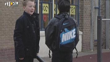 RTL Nieuws School Woerden protesteert in zwart