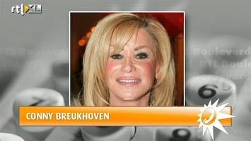 RTL Boulevard Conny Breukhoven houdt haar hart vast