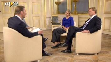 RTL Nieuws Interview met het koningspaar: de hoogtepunten