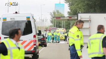 RTL Nieuws Hulpdiensten op de plek van het ongeval