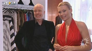 RTL Boulevard Mart Visser en model Danielle Bleeker over samenwerking