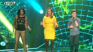 The Voice Kids - Angela Groothuizen Met Silvana En Jurre - Animal