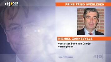 RTL Nieuws Voorzitter Oranjeverenigingen: zeer, zeer treurig nieuws
