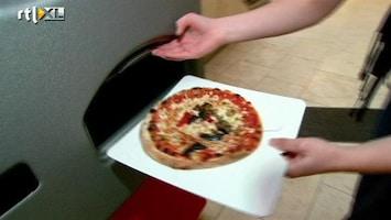 RTL Nieuws Pizza uit de muur