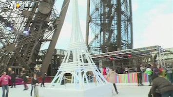 RTL Nieuws Schaatsen op hoogte: ijsbaan op de Eiffeltoren