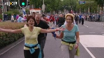 RTL Nieuws Wandelaars Vierdaagse terug in Nijmegen