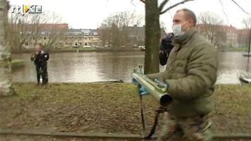 RTL Nieuws Granaatwerper gevonden in Amsterdam