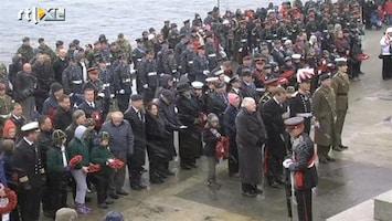 RTL Nieuws Gesneuvelde militairen Falklandoorlog herdacht