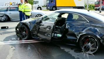 RTL Boulevard Jeroen Post slaat met auto over de kop