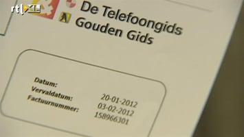 RTL Nieuws Nepfacturen van De Telefoongids verstuurd