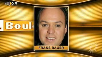 RTL Boulevard Frans Bauer over gehoorproblemen zoontje