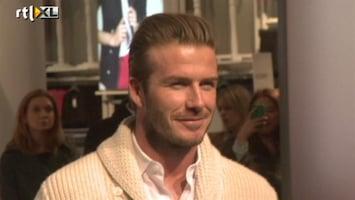 RTL Boulevard David Beckham voor H&M
