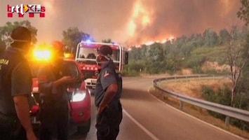RTL Nieuws Nederlandse vakantiegangers getroffen door bosbrand