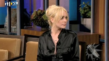 RTL Boulevard Lindsay Lohan begint charmeoffensief bij Jay Leno