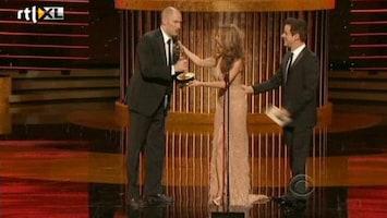 RTL Nieuws Door plasje te laat voor Emmy award