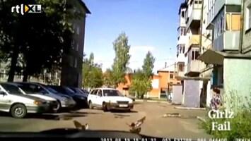 Editie NL Inparkerend vrouw