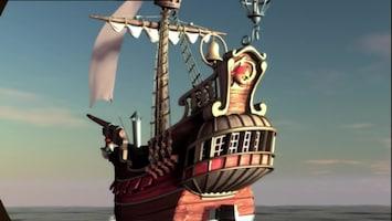 Piet Piraat - Vaas Met Een Boodschap