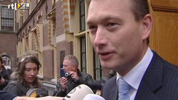 RTL Nieuws Zijlstra: overleg regeerakkoord in goede sfeer