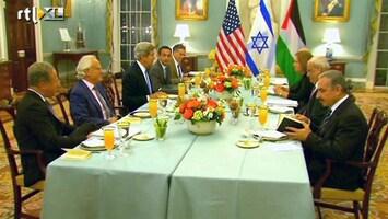 RTL Nieuws Na drie jaar Israël en Palestijnen weer om tafel
