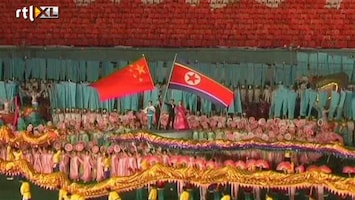 RTL Nieuws Overstromingen of niet: massaspelen Noord-Korea gaan door