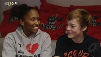 RTL Boulevard Concurrentiestrijd bij The Voice Kids