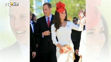 RTL Boulevard Bezoek William en Kate aan Canada