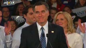 RTL Nieuws Romney wint in New Hampshire