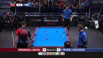 Pool: Mosconi Cup - Afl. 3
