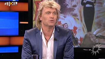 RTL Boulevard Hans Klok in voorbereiding op nieuwe show