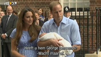 RTL Nieuws 'Heeft u de baby George genoemd?'