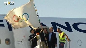 RTL Nieuws Olympische vlag aangekomen in Rio de Janeiro