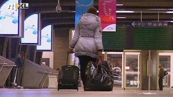 RTL Nieuws Publieke sector België plat door staking