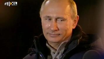 RTL Nieuws Poetin weer president Rusland