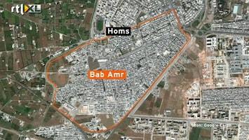 RTL Nieuws Syrische opstandelingen trekken zich terug