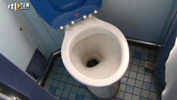 RTL Nieuws NS noemt treinen schoon, ook al is de wc vies