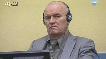 RTL Nieuws Mladic voor het eerst in de rechtszaal