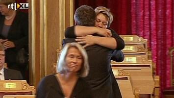 RTL Nieuws Noors parlement herdenkt aanslagen