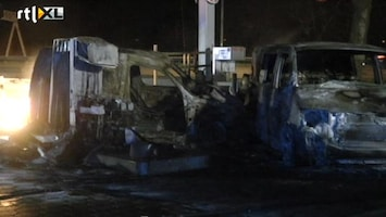 RTL Nieuws Drie gewonden bij brand in tankstation A12