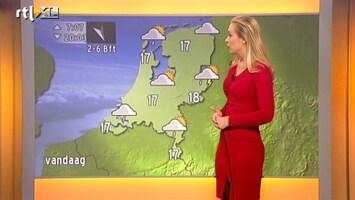 RTL Nieuws 'Iets rustiger, maar droog houden we het niet'