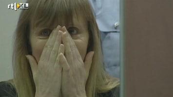 RTL Nieuws Protest tegen komst ex-vrouw Dutroux