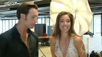 RTL Boulevard Naomi van As en Javier Guzman dansen erop los