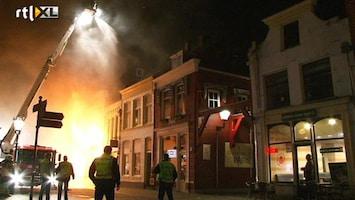 RTL Nieuws Brand in historisch hart Kampen