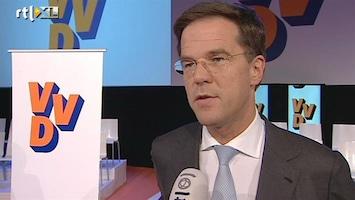RTL Nieuws Rutte hoopt dat onrust binnen VVD voorbij is
