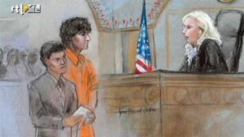 RTL Nieuws 'Boston Bomber leek te grijnzen in de rechtszaal'