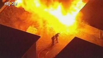 RTL Nieuws Tientallen branden in Hollywood