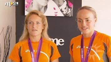 RTL Boulevard Hockeyheldinnen in tranen bij bedanken coach