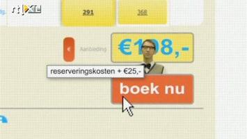 RTL Nieuws 'Nog te veel misleiding op reiswebsites'